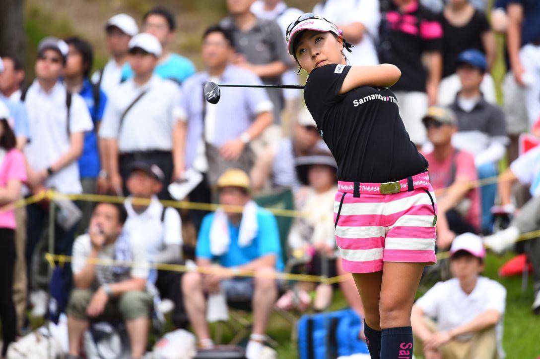 サントリーレディスオープンゴルフトーナメント 3日目 青木瀬令奈 <Photo:Masterpress/Getty Images>