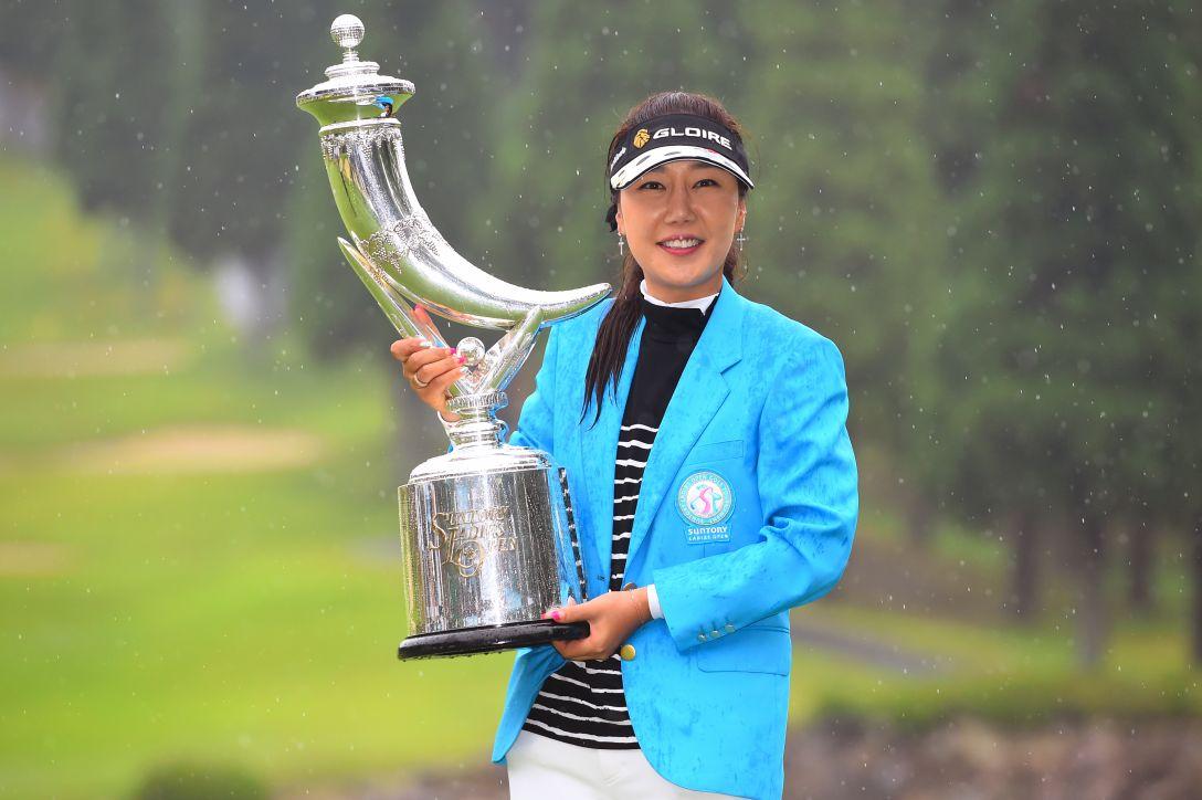 サントリーレディスオープンゴルフトーナメント 最終日 姜秀衍 <Photo:Masterpress/Getty Images>