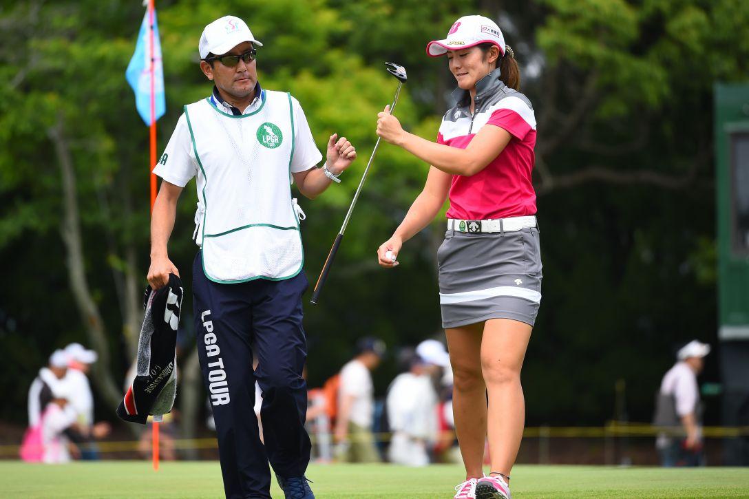 サントリーレディスオープンゴルフトーナメント 3日目 渡邉彩香 <Photo:Masterpress/Getty Images>