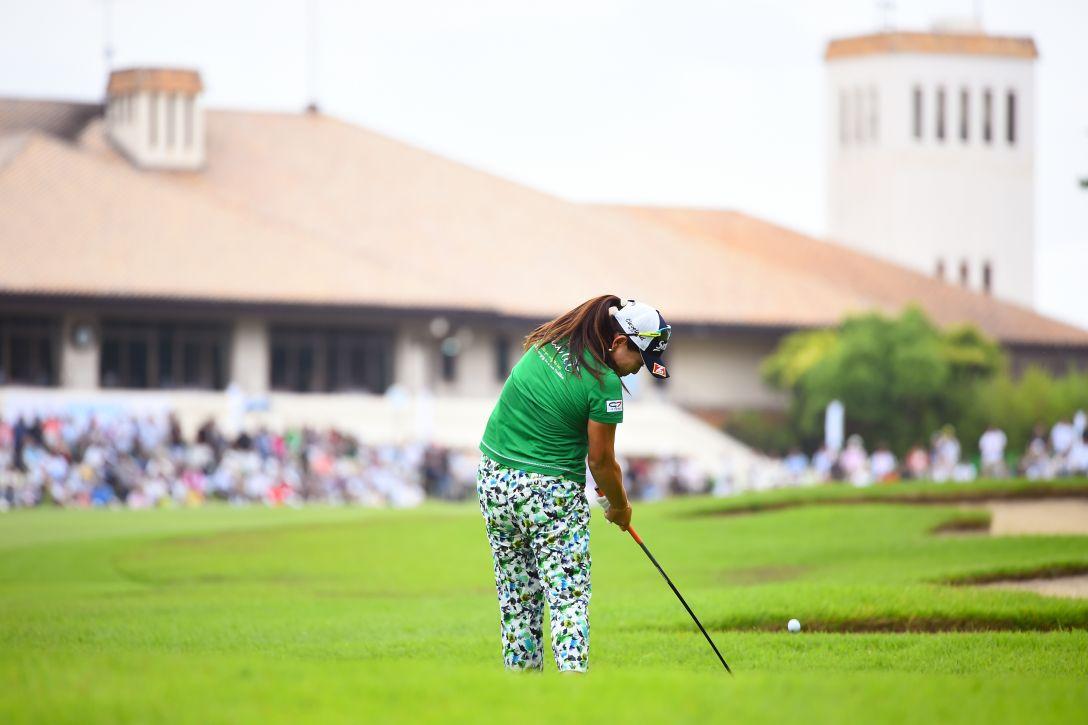 サントリーレディスオープンゴルフトーナメント 最終日 吉田弓美子 <Photo:Masterpress/Getty Images>