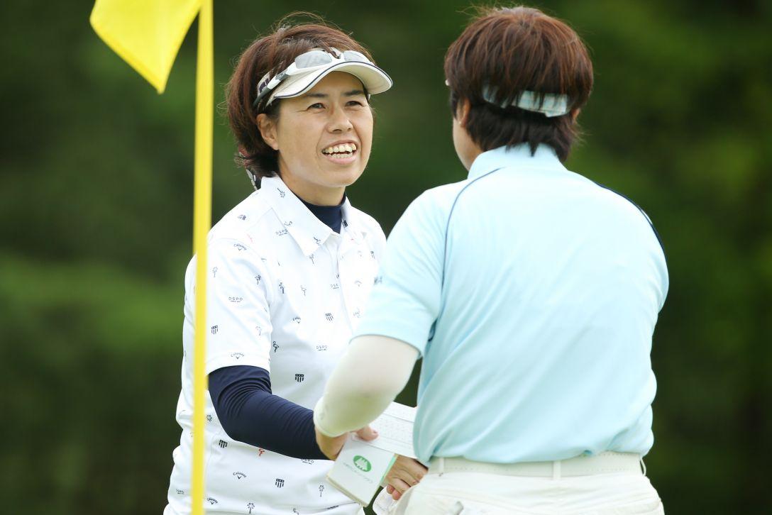 レジェンズチャンピオンシップ アイザックカップ 2日目 鈴木佳恵 <Photo:Atsushi Tomura/Getty Images>