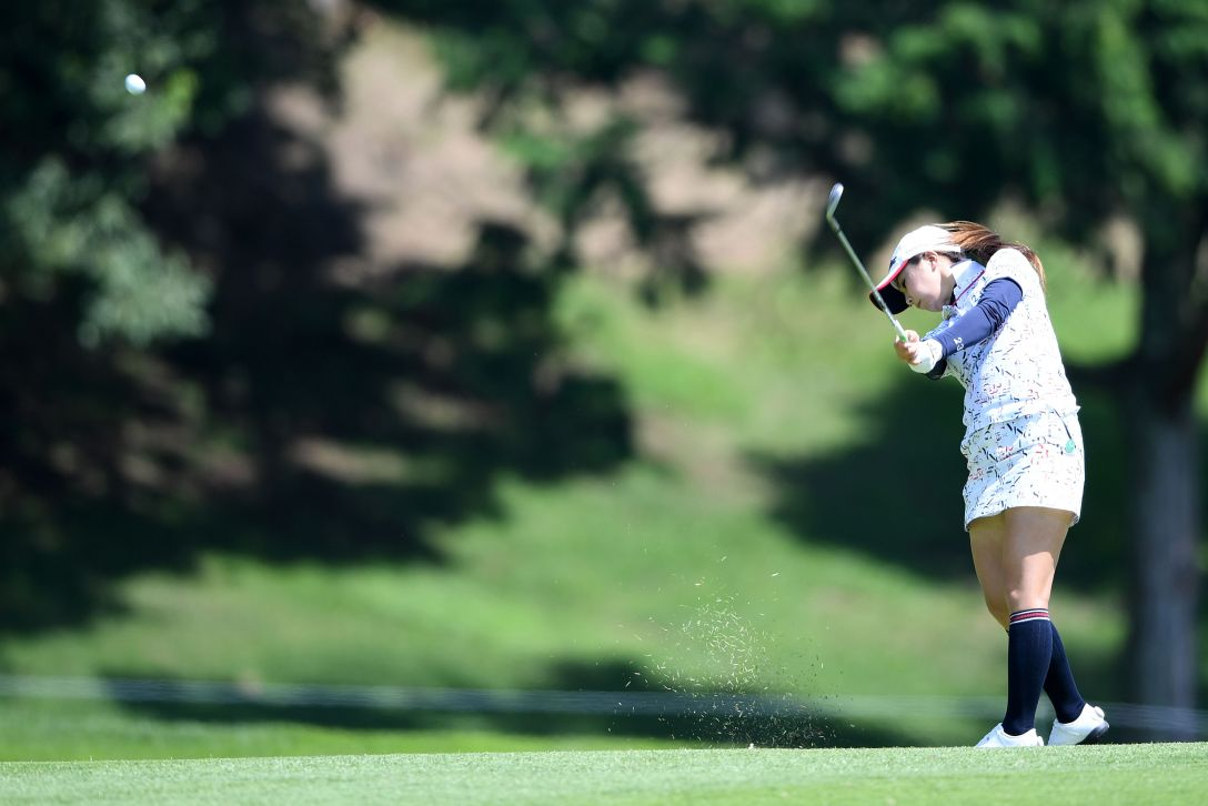 センチュリー21レディスゴルフトーナメント 2日目 菊地絵理香 <Photo:Arrow Press/Getty Images>