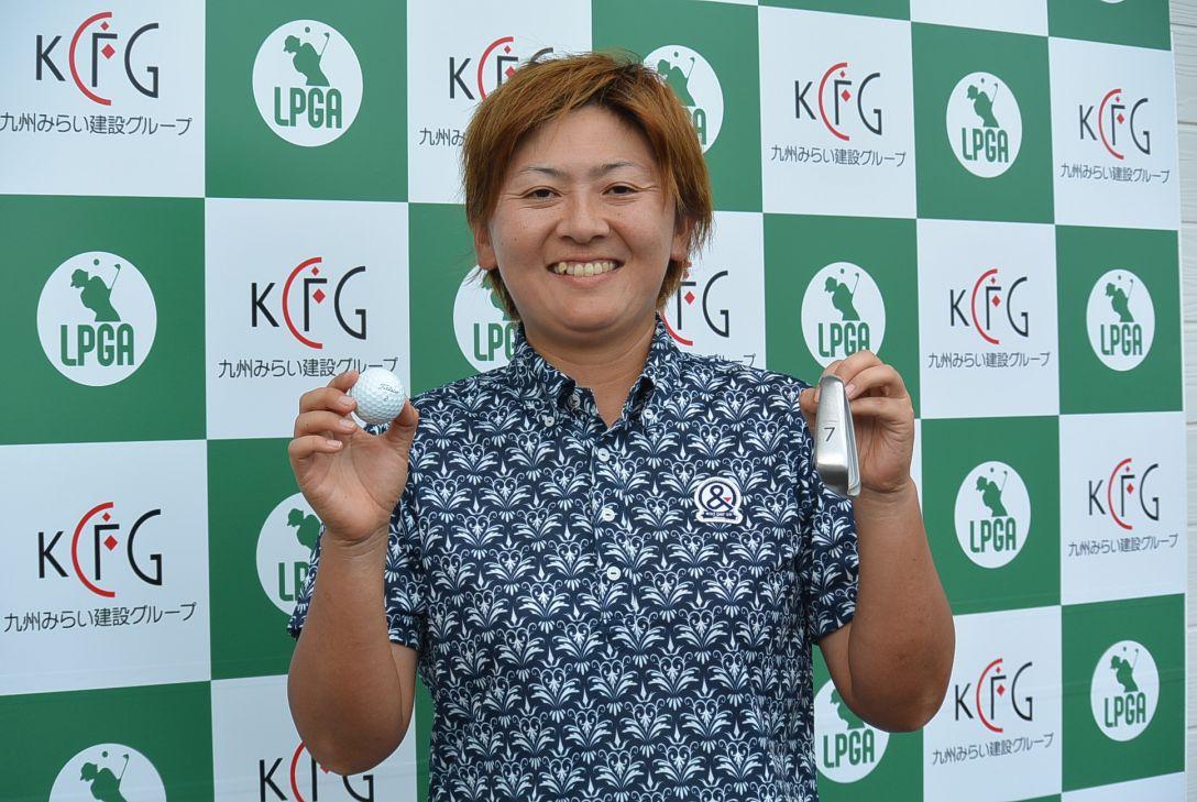 九州みらい建設グループレディースゴルフトーナメント 1日目 安納昭江