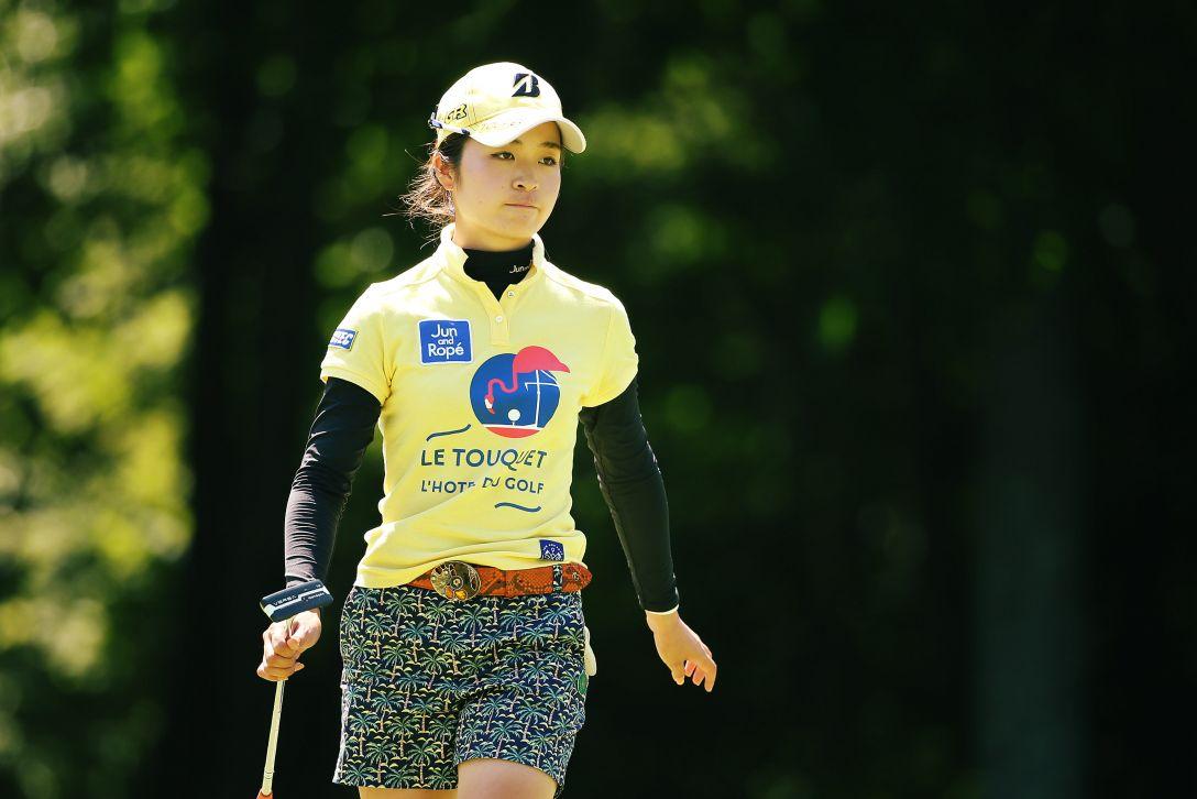 meiji カップ 2日目 三ヶ島 かな <Photo:Atsushi Tomura/Getty Images>