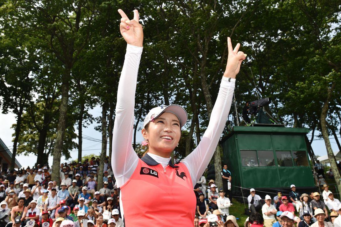 meiji カップ 最終日 イ ボミ <Photo:Atsushi Tomura/Getty Images>