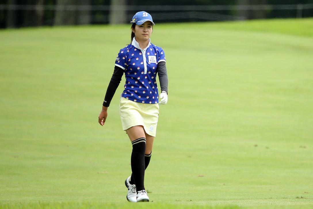 NEC軽井沢72ゴルフトーナメント 1日目 三ヶ島かな <Photo:Atsushi Tomura/Getty Images>