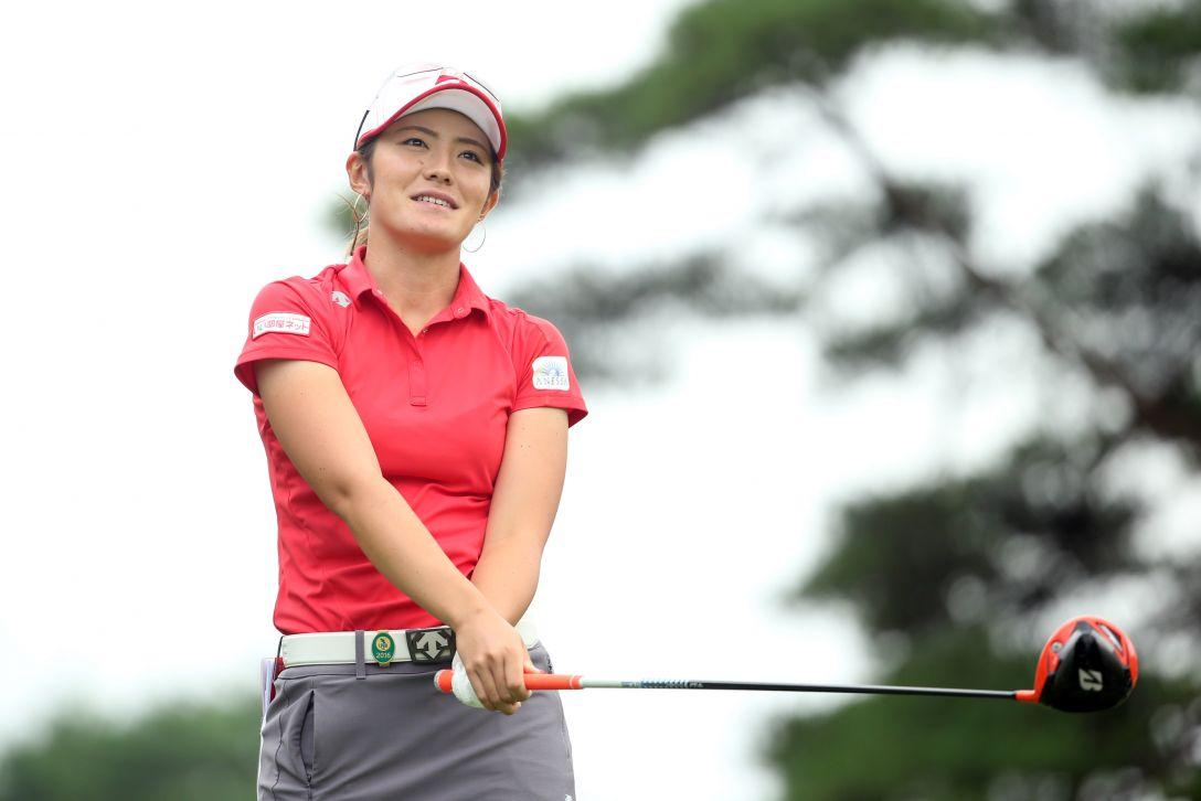 NEC軽井沢72ゴルフトーナメント 1日目 渡邉彩香 <Photo:Atsushi Tomura/Getty Images>