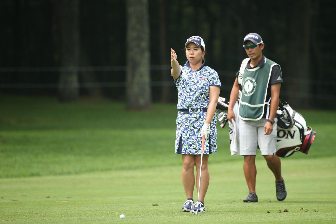 NEC軽井沢72ゴルフトーナメント 2日目 吉田弓美子 <Photo:Atsushi Tomura/Getty Images>