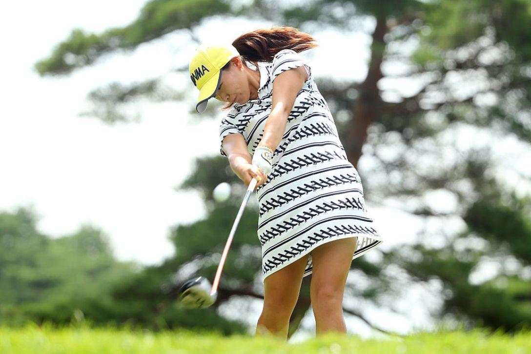 NEC軽井沢72ゴルフトーナメント 2日目 永井花奈 <Photo:Atsushi Tomura/Getty Images>