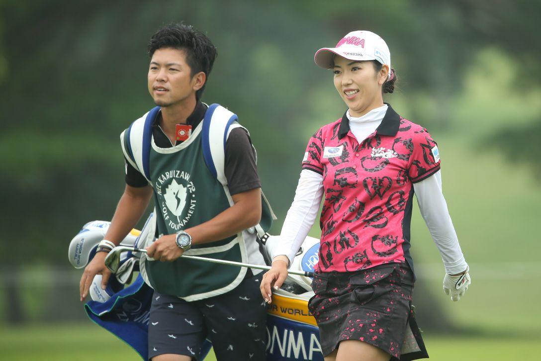 NEC軽井沢72ゴルフトーナメント 最終日 笠りつ子 <Photo:Atsushi Tomura/Getty Images>