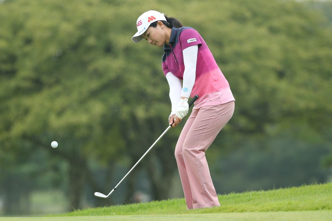 NEC軽井沢72ゴルフトーナメント 最終日 上原彩子 <Photo:Atsushi Tomura/Getty Images>