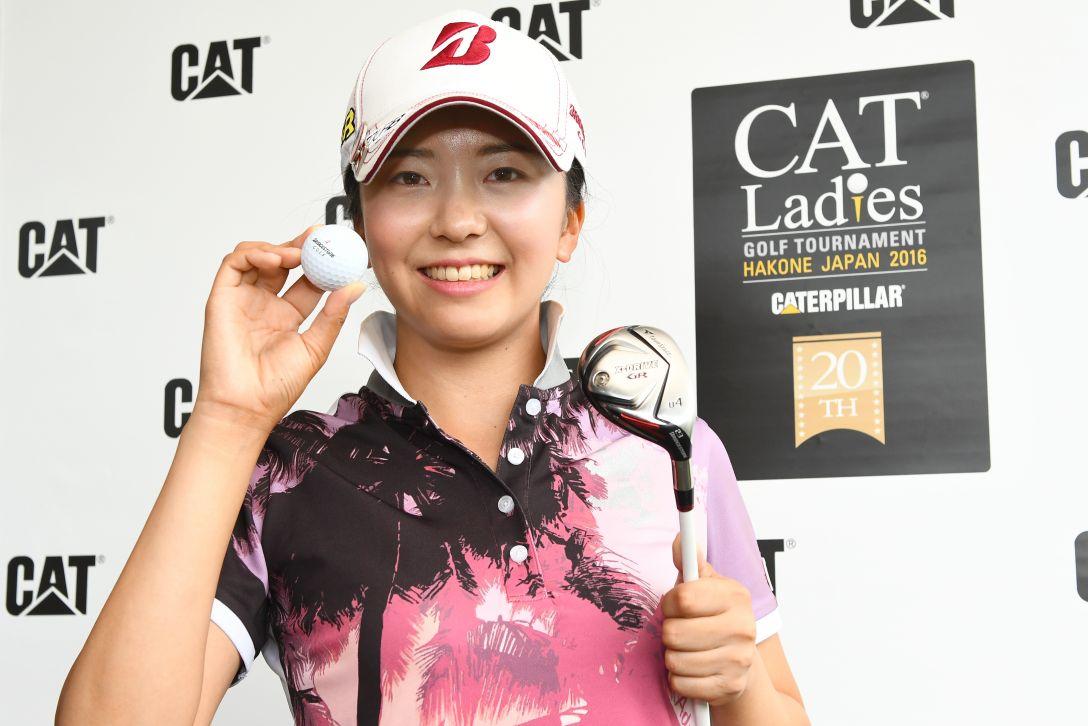 CAT Ladies 2日目 堀琴音 <Photo:Masterpress/Getty Images>