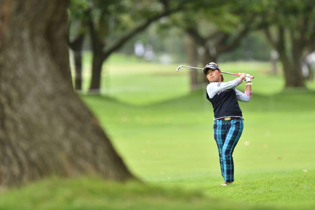 ニトリレディスゴルフトーナメント 2日目 青木瀬令奈 <Photo:Atsushi Tomura/Getty Images>