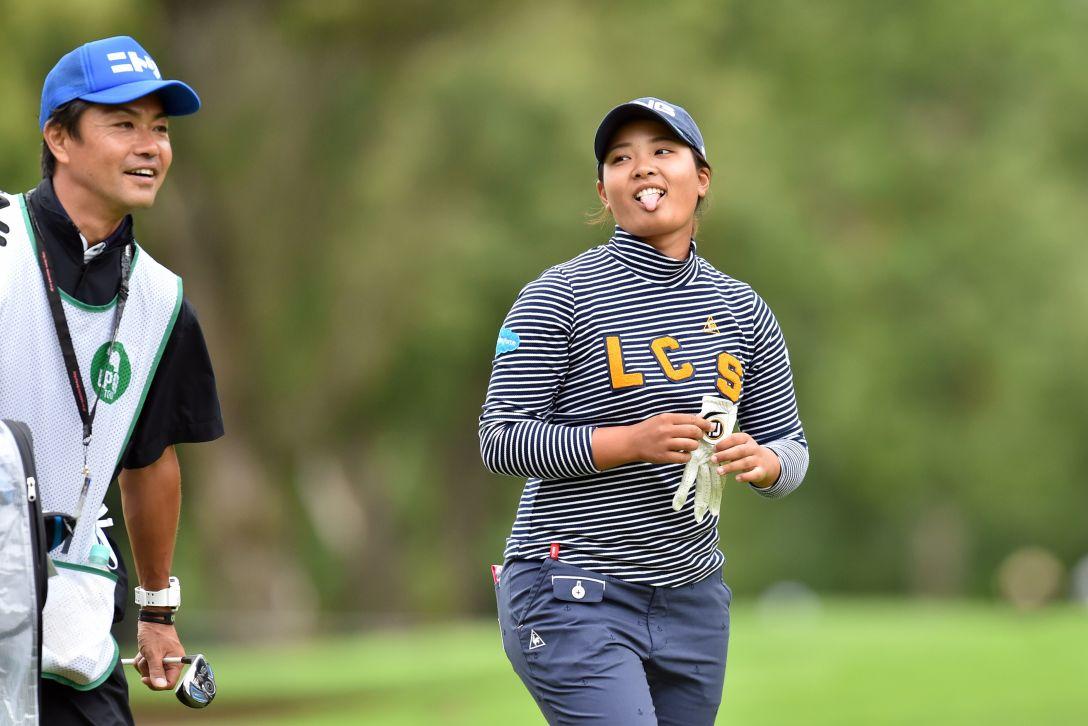 ニトリレディスゴルフトーナメント 2日目 鈴木愛 <Photo:Atsushi Tomura/Getty Images>