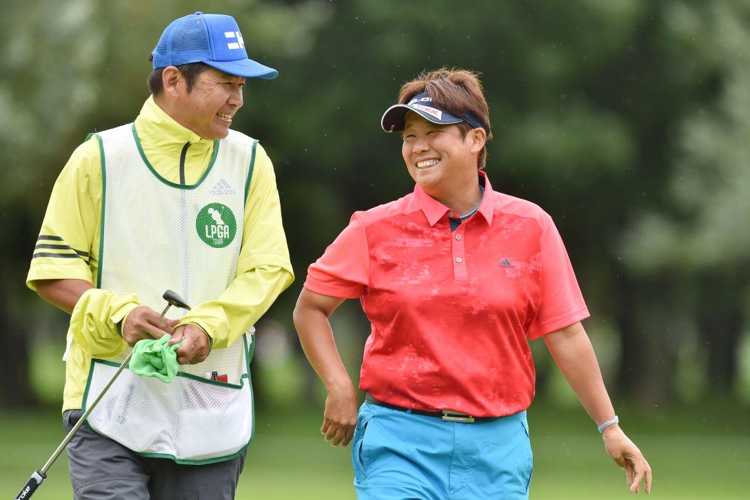 ニトリレディスゴルフトーナメント 2日目 表純子 <Photo:Atsushi Tomura/Getty Images>