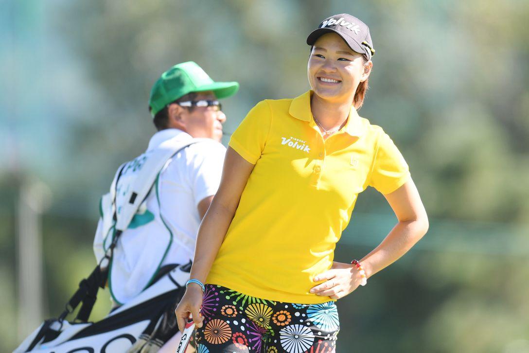 ニトリレディスゴルフトーナメント 3日目 ベイブ・リュウ <Photo:Atsushi Tomura/Getty Images>