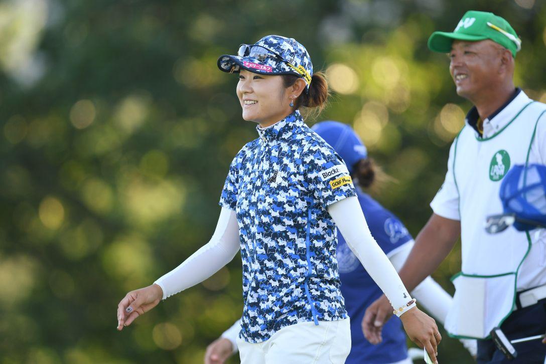 ニトリレディスゴルフトーナメント 3日目 藤田さいき <Photo:Atsushi Tomura/Getty Images>