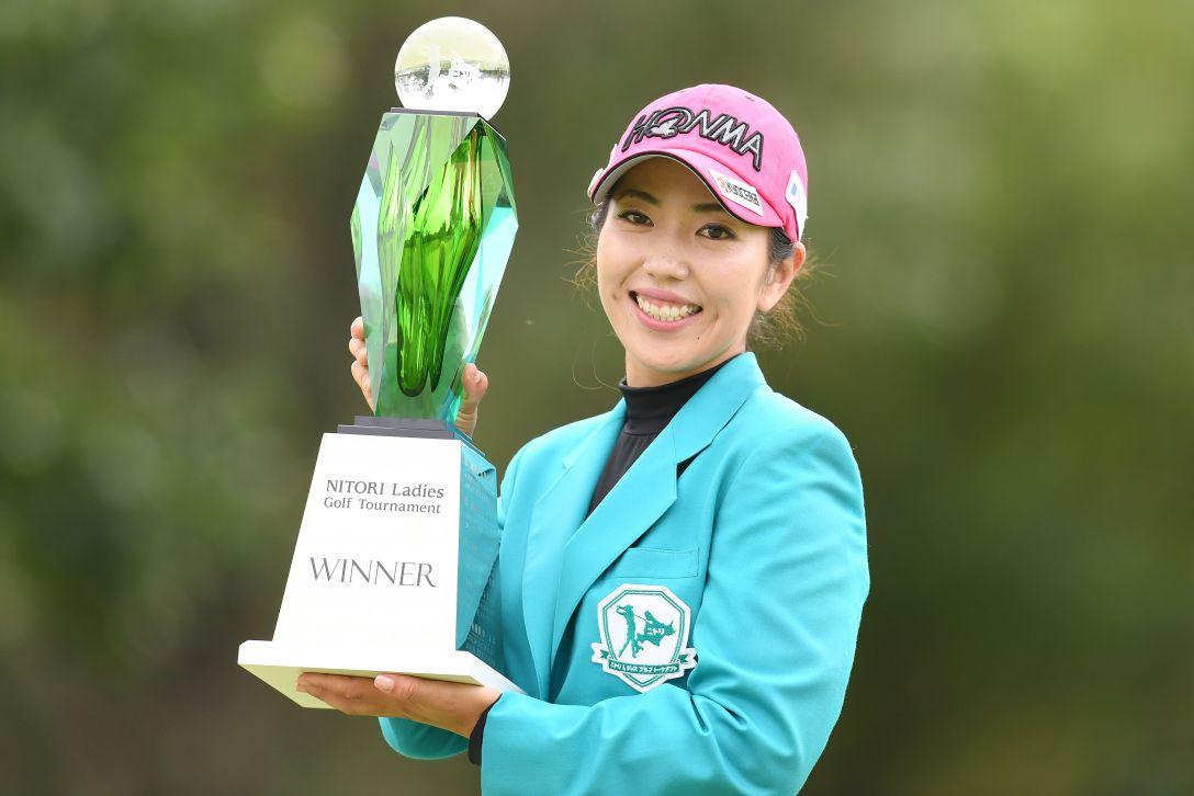 ニトリレディスゴルフトーナメント 最終日 笠りつ子 <Photo:Atsushi Tomura/Getty Images>
