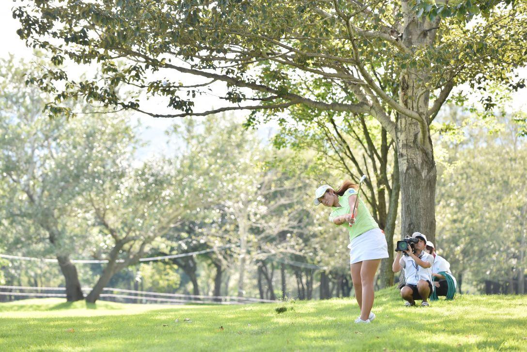 ニトリレディスゴルフトーナメント 最終日 渡邉彩香 <Photo:Atsushi Tomura/Getty Images>