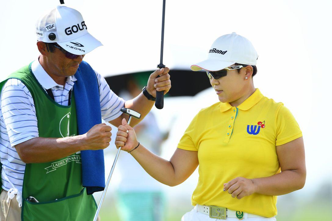 ゴルフ5レディス プロゴルフトーナメント 1日目 申ジエ <Photo:Masterpress/Getty Images>