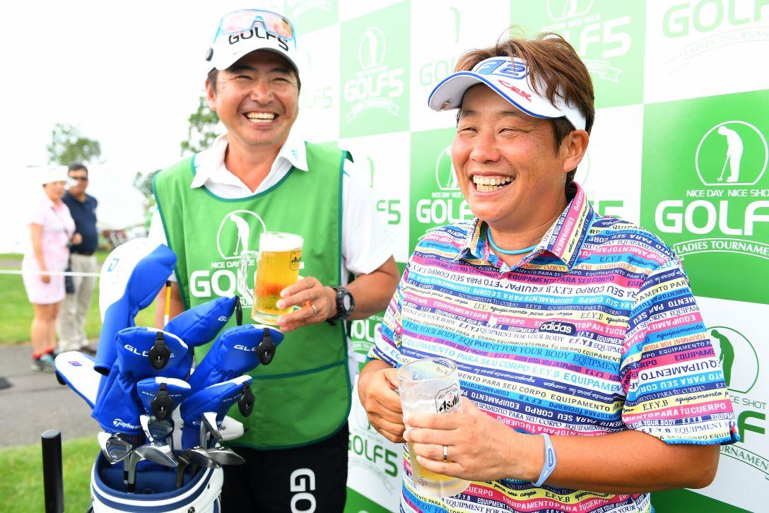 ゴルフ5レディス プロゴルフトーナメント 1日目 表純子 <Photo:Masterpress/Getty Images>