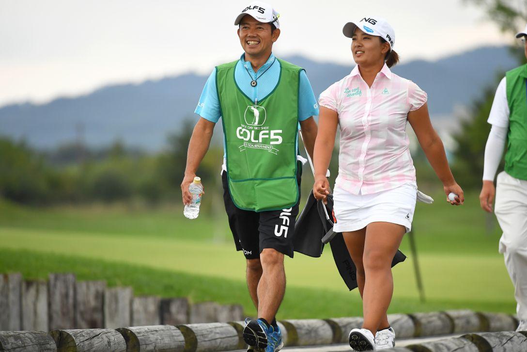 ゴルフ5レディス プロゴルフトーナメント 2日目 鈴木愛 <Photo:Masterpress/Getty Images>