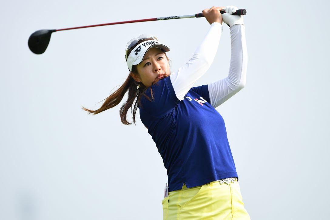 ゴルフ5レディス プロゴルフトーナメント 1日目 内山久美 <Photo:Masterpress/Getty Images>