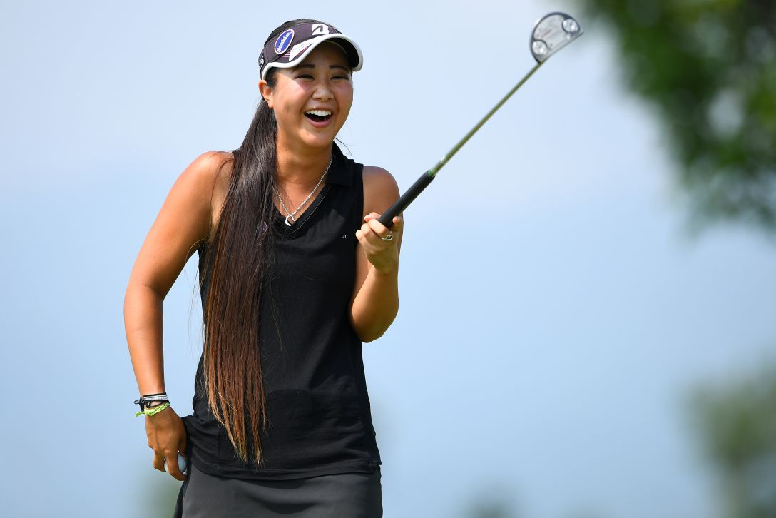 ゴルフ5レディス プロゴルフトーナメント 1日目 平野ジェニファー <Photo:Masterpress/Getty Images>