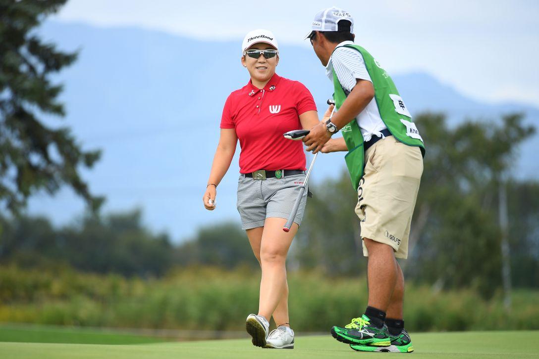 ゴルフ5レディス プロゴルフトーナメント 2日目 申ジエ <Photo:Masterpress/Getty Images>