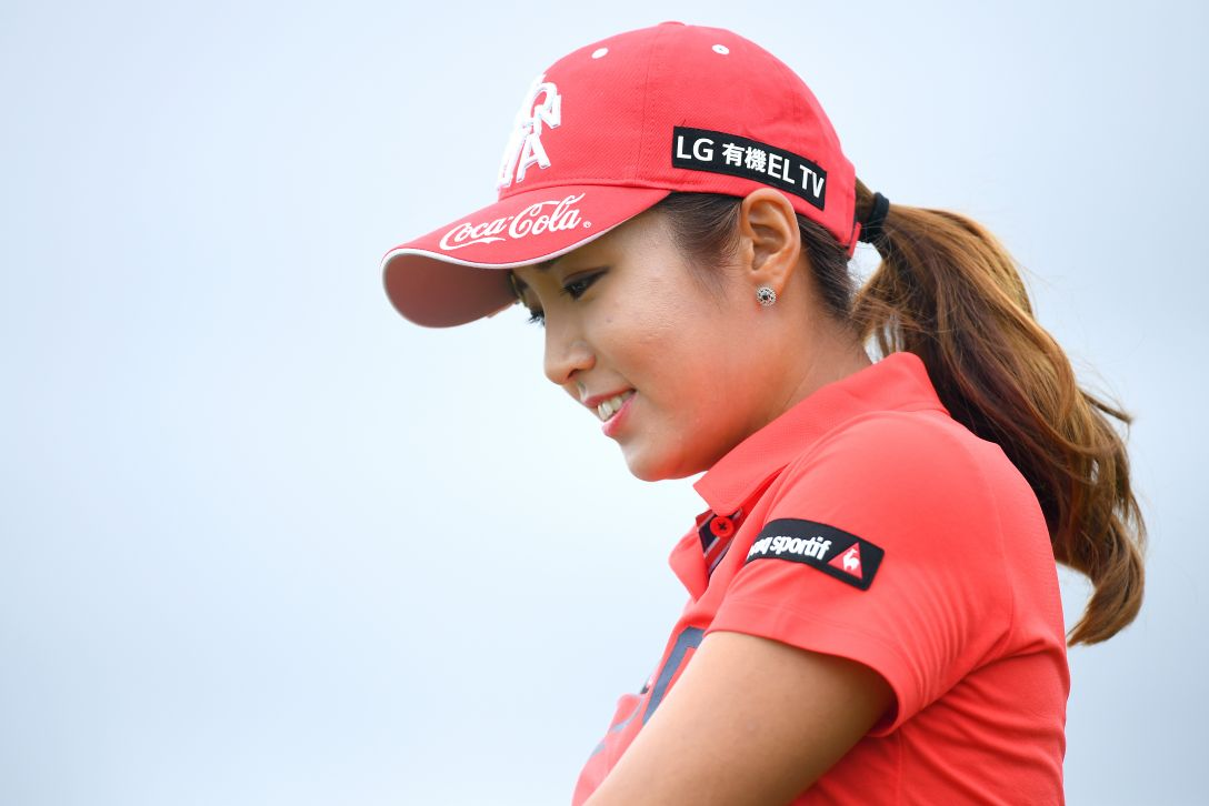 ゴルフ5レディス プロゴルフトーナメント 最終日 イボミ <Photo:Masterpress/Getty Images>