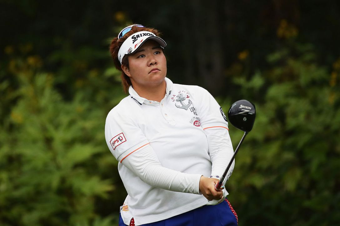 日本女子プロゴルフ選手権大会コニカミノルタ杯 1日目 酒井美紀 <Photo:Chung Sung-Jun/Getty Images>