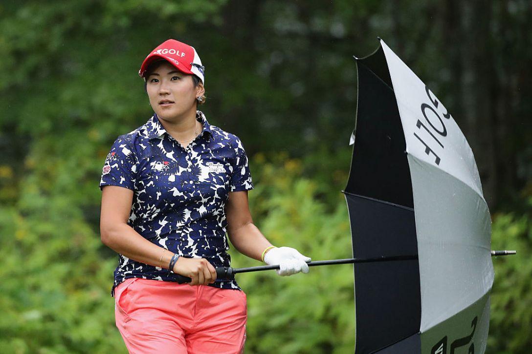 日本女子プロゴルフ選手権大会コニカミノルタ杯 1日目 成田 美寿々 <Photo:Chung Sung-Jun/Getty Images>
