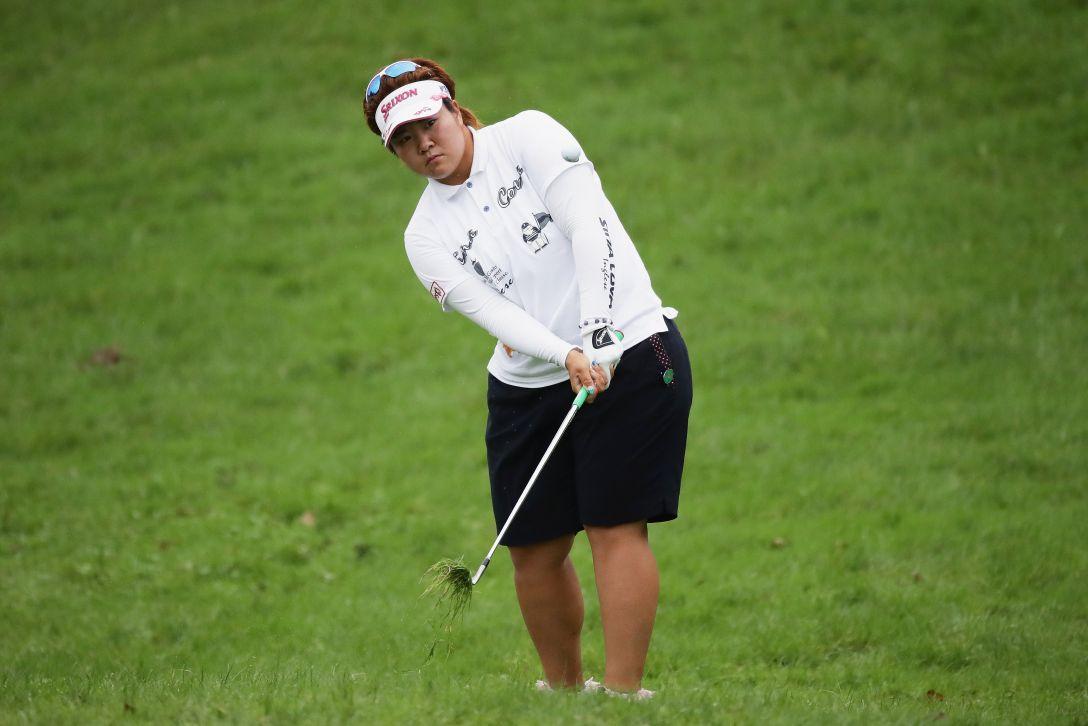 日本女子プロゴルフ選手権大会コニカミノルタ杯 2日目 酒井美紀 <Photo:Chung Sung-Jun/Getty Images>
