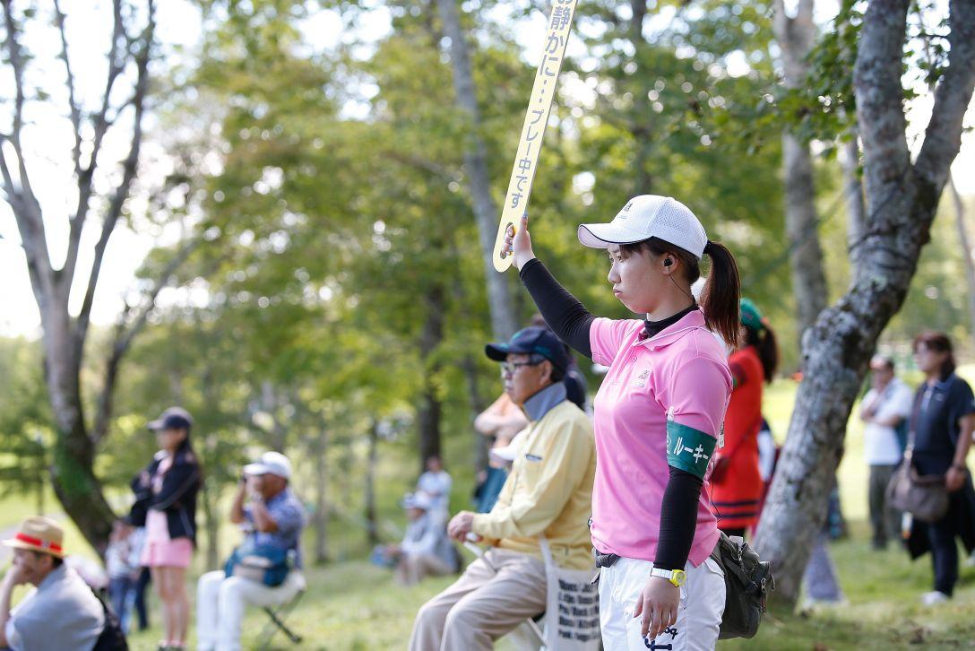 日本女子プロゴルフ選手権大会コニカミノルタ杯 3日目 石川明日香 <Photo:Ken Ishii/Getty Images>