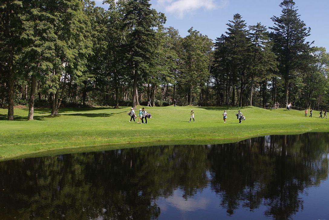日本女子プロゴルフ選手権大会コニカミノルタ杯 3日目 <Photo:Chung Sung-Jun/Getty Images>