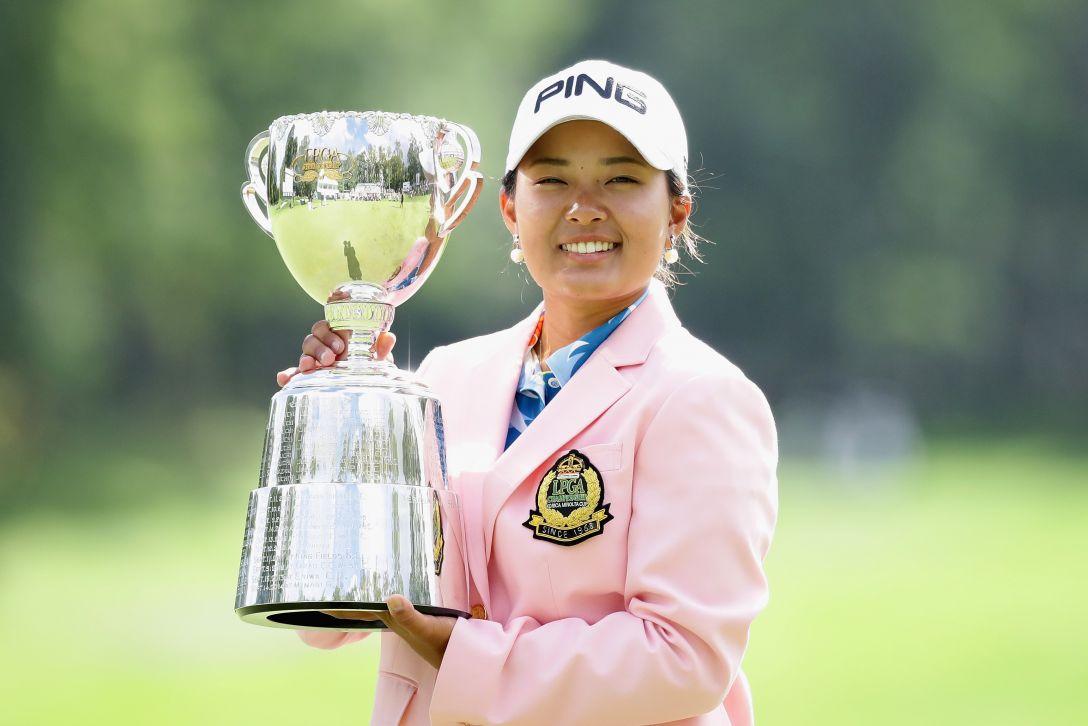 日本女子プロゴルフ選手権大会コニカミノルタ杯 最終日 鈴木愛 <Photo:Chung Sung-Jun/Getty Images>