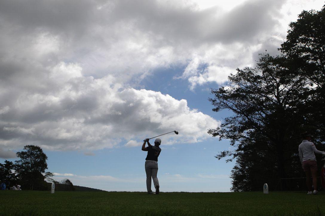 日本女子プロゴルフ選手権大会コニカミノルタ杯 最終日 申ジエ <Photo:Chung Sung-Jun/Getty Images>