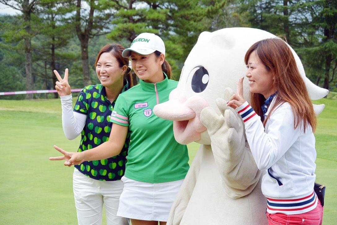 中国新聞ちゅーピーレディースカップ 最終日 小橋 絵利子