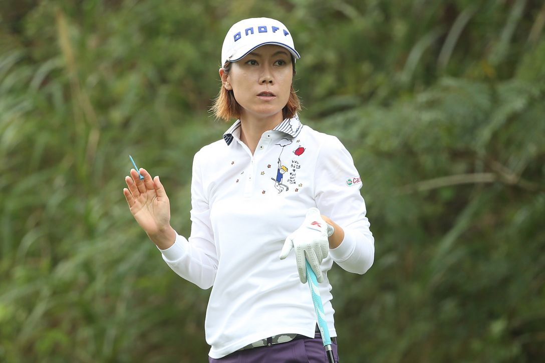 ミヤギテレビ杯ダンロップ女子オープンゴルフトーナメント 1日目 李知姫 <Photo:Atsushi Tomura/Getty Images>