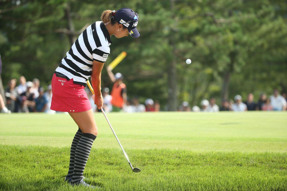 ミヤギテレビ杯ダンロップ女子オープンゴルフトーナメント 最終日 木戸愛 <Photo:Atsushi Tomura/Getty Images>