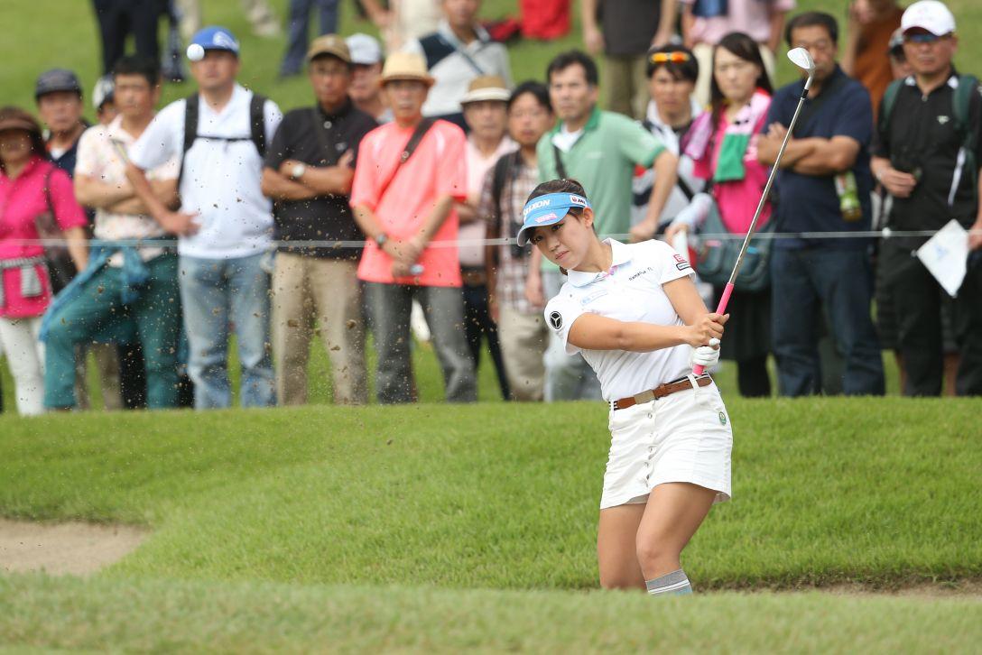 ミヤギテレビ杯ダンロップ女子オープンゴルフトーナメント 最終日 香妻琴乃 <Photo:Atsushi Tomura/Getty Images>
