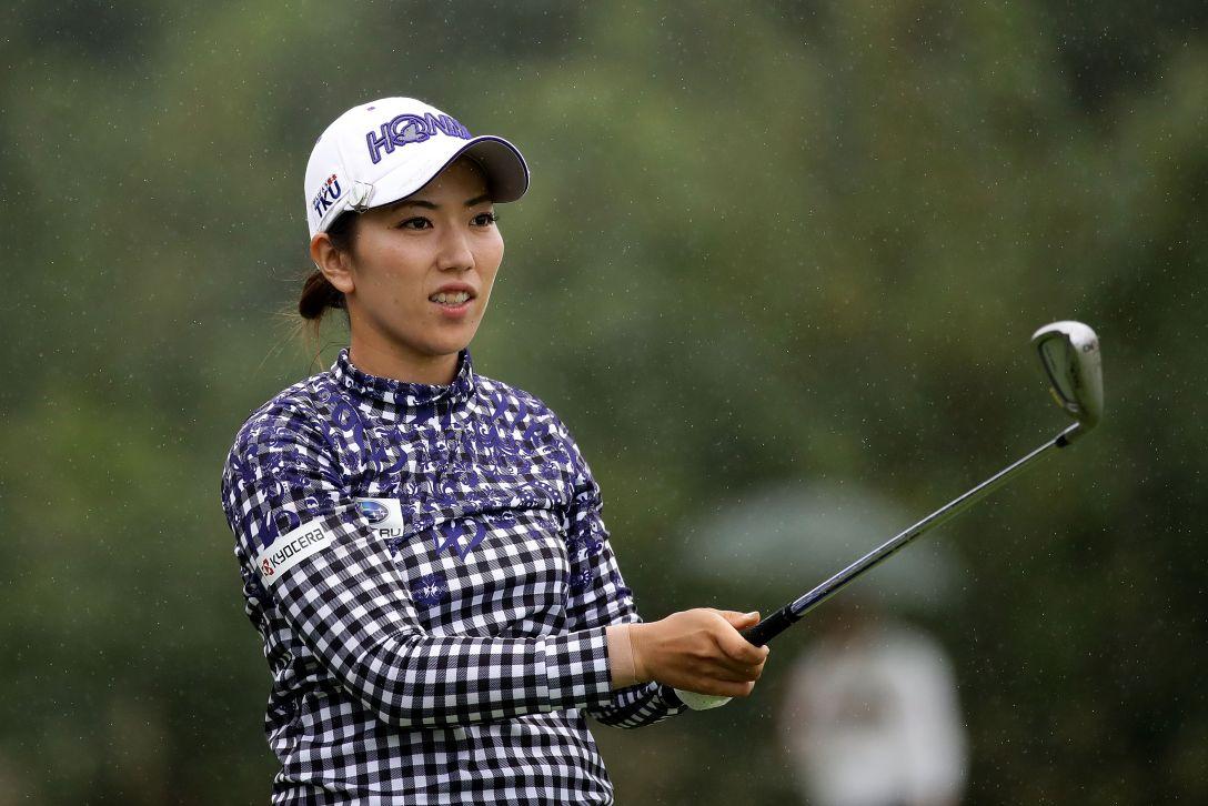 日本女子オープンゴルフ選手権競技 1日目 笠りつ子 <Photo:Chung Sung-Jun/Getty Images>