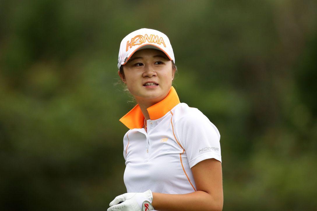 日本女子オープンゴルフ選手権競技 1日目 森田遥 <Photo:Chung Sung-Jun/Getty Images>