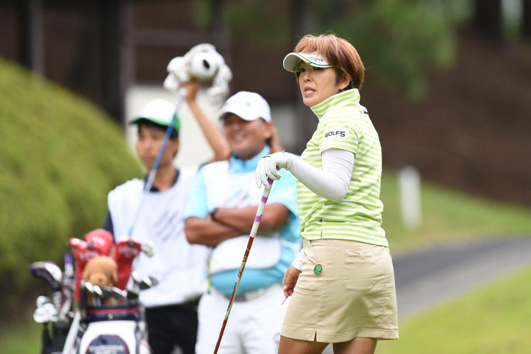 スタンレーレディスゴルフトーナメント 1日目 福嶋浩子 <Photo:Atsushi Tomura/Getty Images>