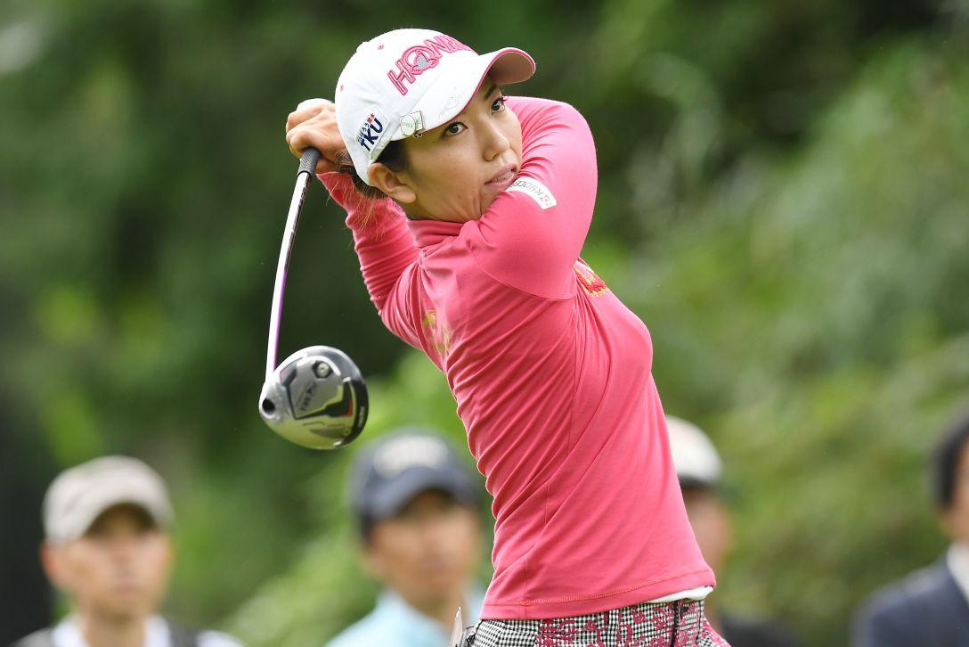 スタンレーレディスゴルフトーナメント 1日目 笠りつ子 <Photo:Atsushi Tomura/Getty Images>