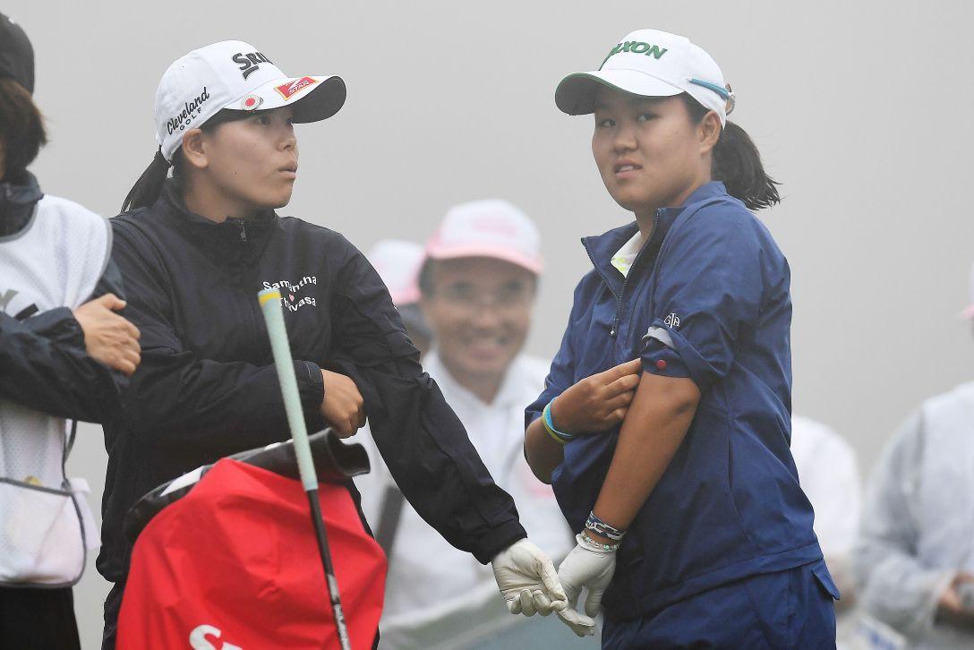 スタンレーレディスゴルフトーナメント 2日目 畑岡奈紗 勝みなみ <Photo:Atsushi Tomura/Getty Images>