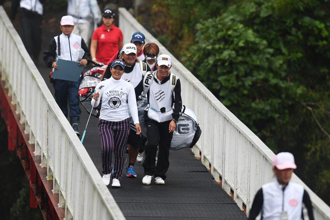 スタンレーレディスゴルフトーナメント 2日目 鈴木愛 <Photo:Atsushi Tomura/Getty Images>