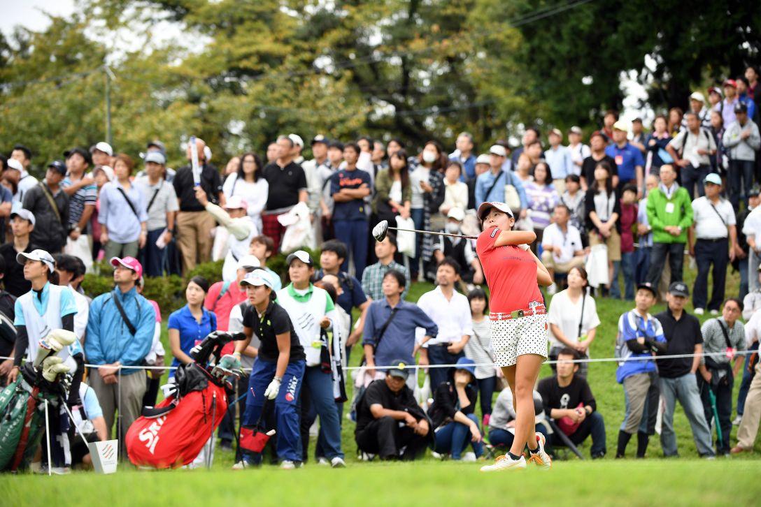 スタンレーレディスゴルフトーナメント 最終日 勝みなみ <Photo:Atsushi Tomura/Getty Images>
