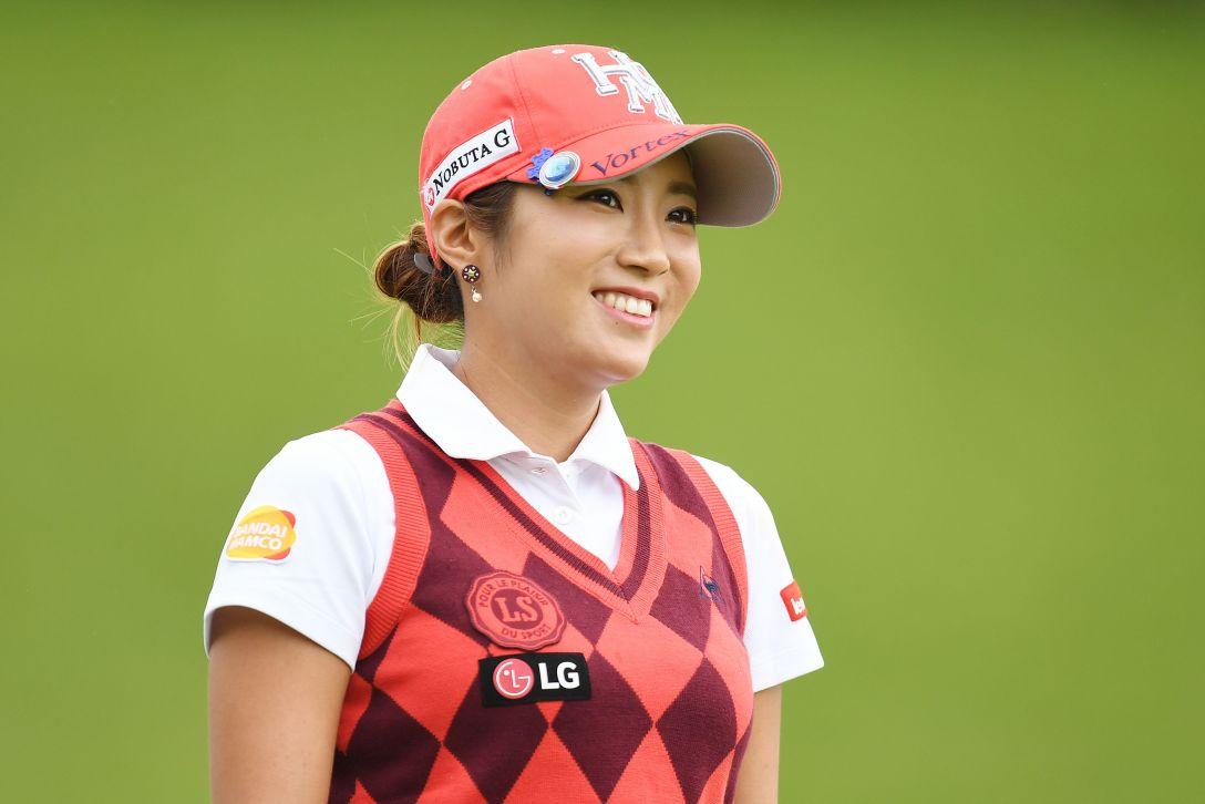 スタンレーレディスゴルフトーナメント 最終日 イボミ <Photo:Atsushi Tomura/Getty Images>