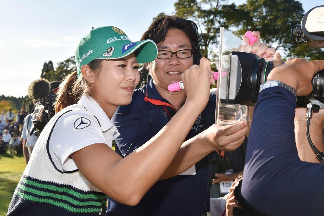 富士通レディース 最終日 松森 彩夏 <Photo:Atsushi Tomura/Getty Images>